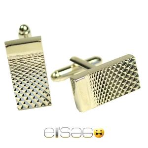 Вытянутые мужские запонки Эльсаго