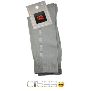 Светло-серые мужские носки Chili