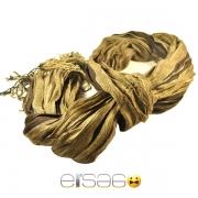 Стильный желтый шарф осень-зима 2013-2014 года