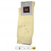 Белые мужские носки Chili с рисунком линий
