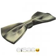 Черная мужская бабочка-галстук Эльсаго