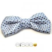 Синяя модная бабочка-галстук Эльсаго