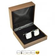 Мужские квадратные запонки Jatala в подарочной упаковке