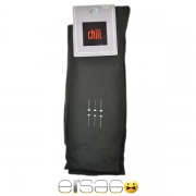 Черные мужские носки Chili с рисунком