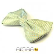 Ультрамариновая галстук-бабочка глянцевая