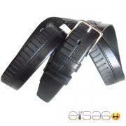 Классический кожаный ремень из двух кусков