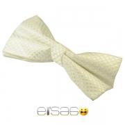 Белая галстук-бабочка на свадьбу