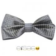 Серая бабочка-галстук Эльсаго стиль квадрат
