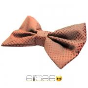 Темно-красная бабочка-галстук Эльсаго