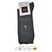 Темные мужские носки Chili рисунок зигзаг