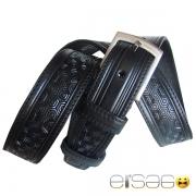 Классический кожаный ремень стиль сот