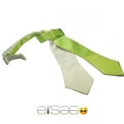 Салатовая бабочка-галстук Эльсаго