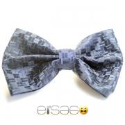 Светло-синяя ретро бабочка-галстук Эльсаго