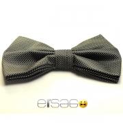 Стильная черная бабочка-галстук на любой праздник