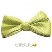 Салатовая бабочка-галстук на любой праздник