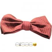 Красная в клеточку бабочка-галстук в подарок