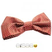 Красно-черная подарочная бабочка-галстук Эльсаго