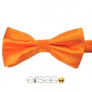 Оранжевая жаккардовая галстук-бабочка