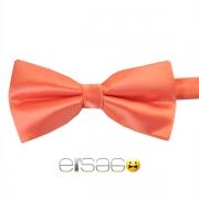 Светло-розовая жаккардовая галстук-бабочка