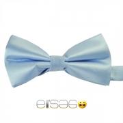 Голубая жаккардовая галстук-бабочка