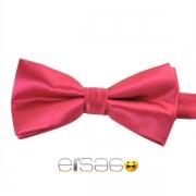 Розовая жаккардовая галстук-бабочка