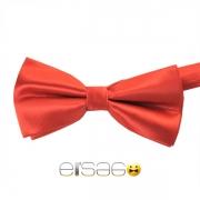 Красная жаккардовая галстук-бабочка