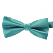 Бирюзовая жаккардовая галстук-бабочка