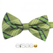Зеленая шотландская галстук-бабочка