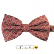 Стильная красная клетчатая шотландская галстук-бабочка