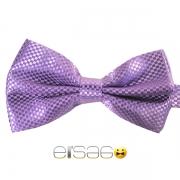 Фиолетовая шотландская галстук-бабочка