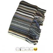 Коричневый смешанный теплый шарф. Мода осень-зима 2013-2014