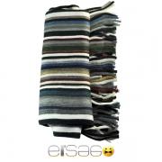 Разноцветный мужской теплый шарф. Мода осень-зима 2013-2014
