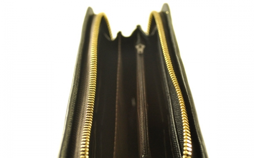 Черный кожаный мужский клатч марки Ruilin