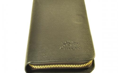 Сетчатый кожаный мужский клатч марки Ruilin