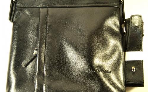 Мужская кожаная сумка под итальянский стиль