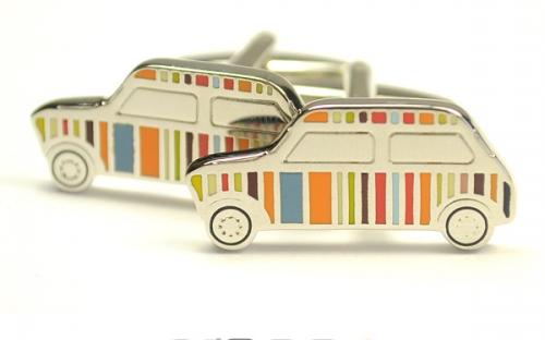 Мужские запонки в форме автомобиля