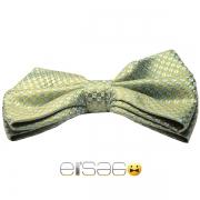 Желто-зеленая бабочка-галстук Эльсаго