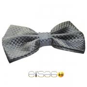 Флуоресцентная серо-синяя бабочка-галстук