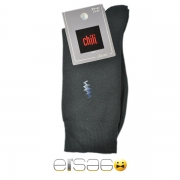 Черные фирменные мужские носки Chili