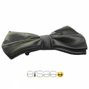 Черная структурная бабочка-галстук Эльсаго
