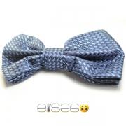 Классическая синяя бабочка-галстук Эльсаго