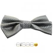Классическая серая бабочка-галстук в подарок