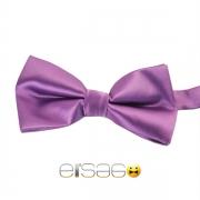 Фиолетовая жаккардовая галстук-бабочка