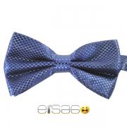 Темно-синяя шотландская галстук-бабочка