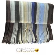 Светлый разноцветный теплый шарф. Мода осень-зима 2013-2014
