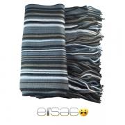 Серо-голубой мужской теплый шарф. Мода осень-зима 2013-2014