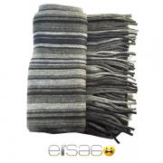 Темно-серый мужской теплый шарф. Мода осень-зима 2013-2014